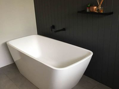 Bathroom renovation Sunshine Coast free standing bath
