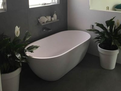 Bathroom renovation Buderim free standing bath