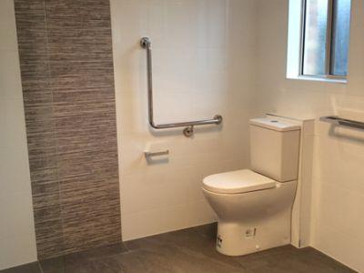 wheelchair accessible bathroom renovation sunshine coast